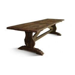 POLDVIN Solid Wood Dining Table