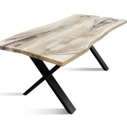 BURBAN-100 Solid Wood Dining Table