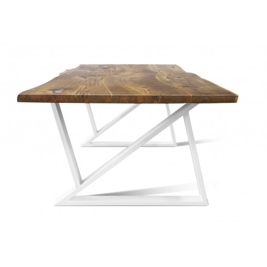 BURBAN-Z Solid Wood Dining Table