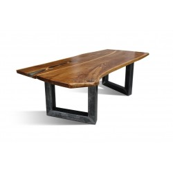 BURBAN-U Solid Wood Dining Table