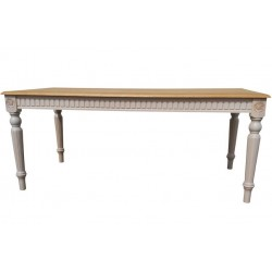 VADI Rectangular Solid Wood Dining Table