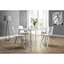 EXPRESSO Glass Top Dining Table With Extension